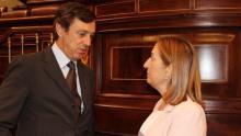 Ana Pastor y Rafael Hernando (Foto eldiario.es)