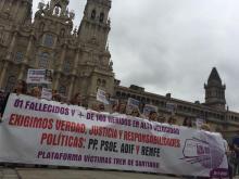 Concentración en Santiago. Quinto aniversario